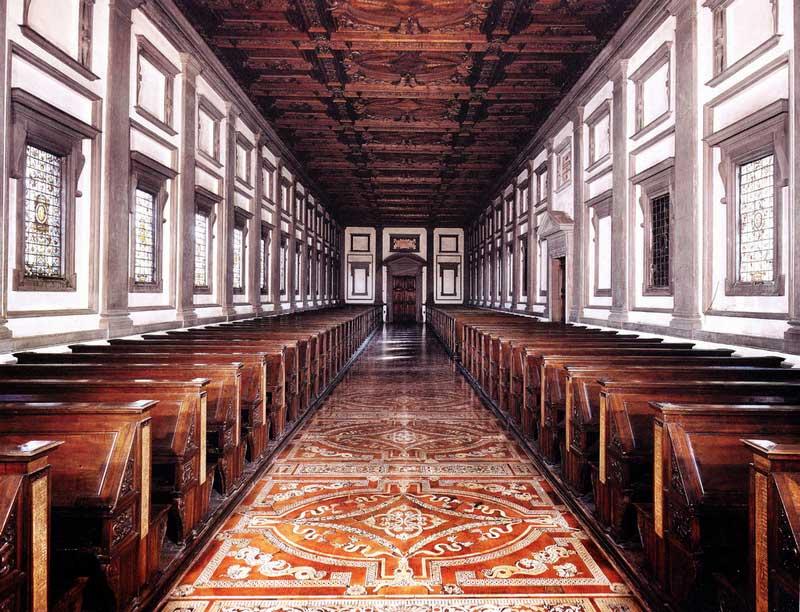 Biblioteca medicea laurenziana interno-1
