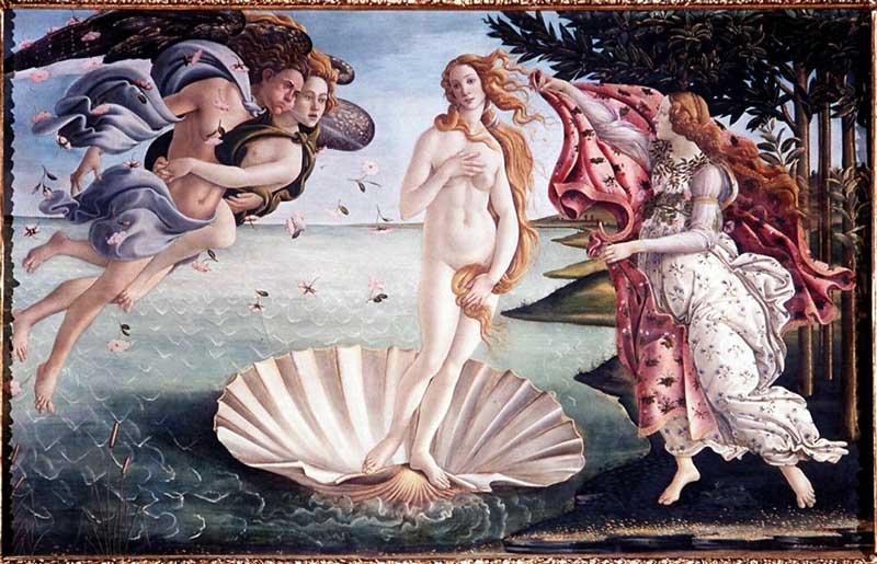 Botticelli  - Nascita di Venere