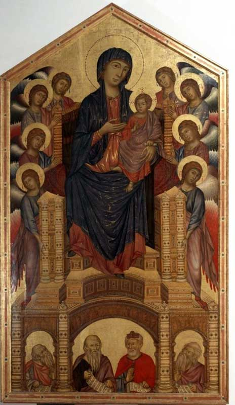 Cimabue - Pala Santa Trinita