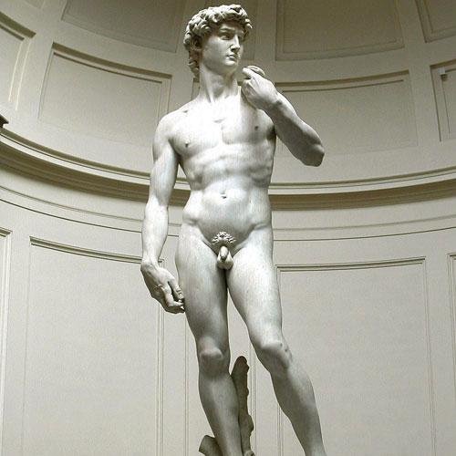 Der David und die Galleria Accademia