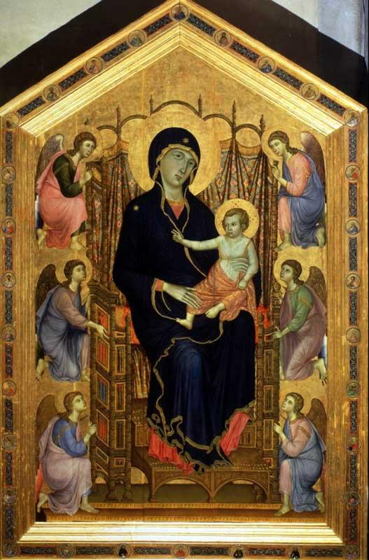 Duccio - Madonna Rucellai