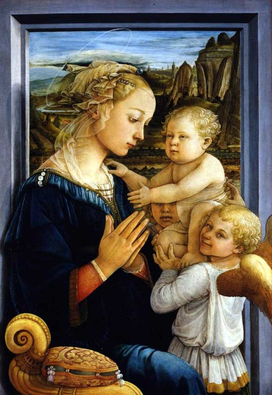 Filippo Lippi - Madonna con bambino