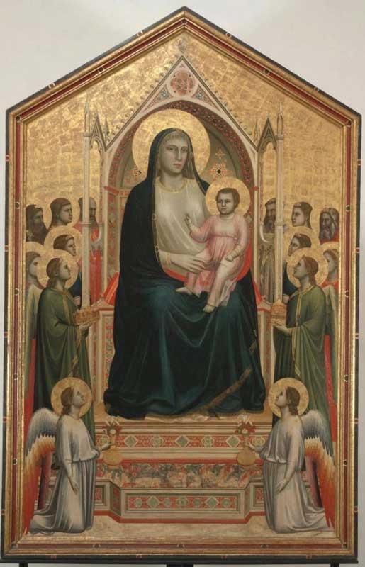 Giotto - Madonna Ognissanti