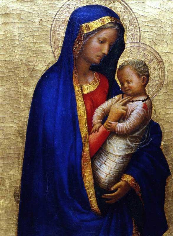 Masaccio - Madonna del solletico