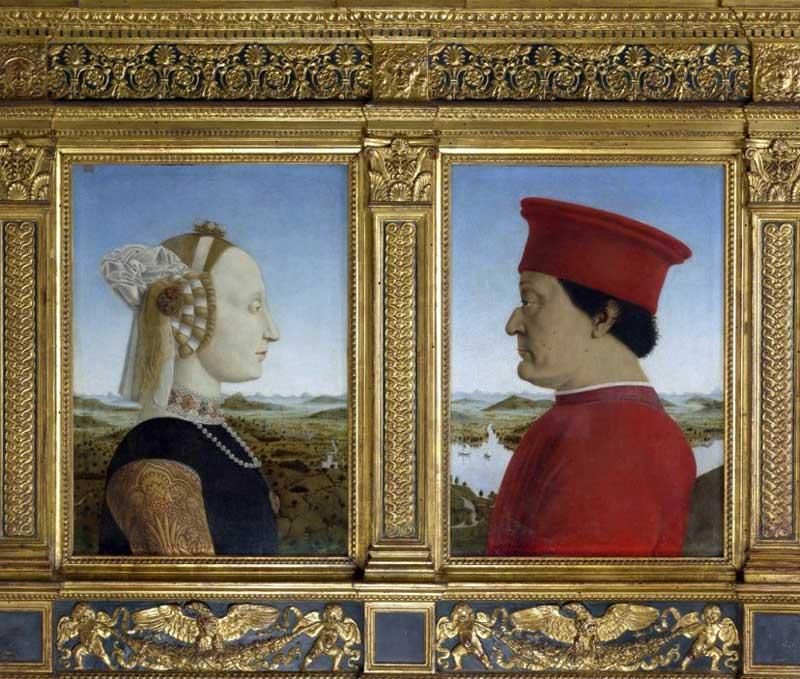 Piero della Francesca - Dittico Duchi di Urbino