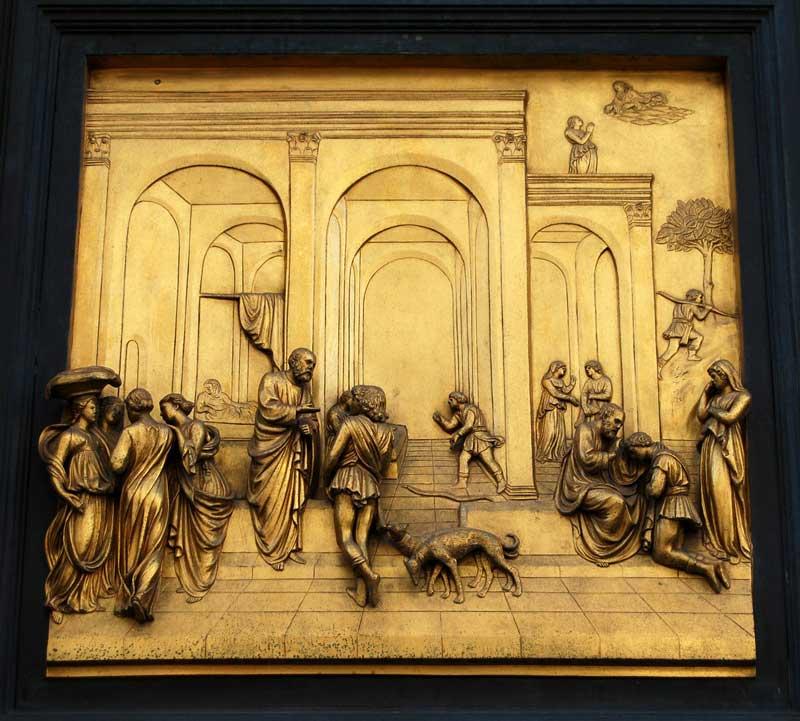 Porta del Paradiso Isacco-Giacobbe
