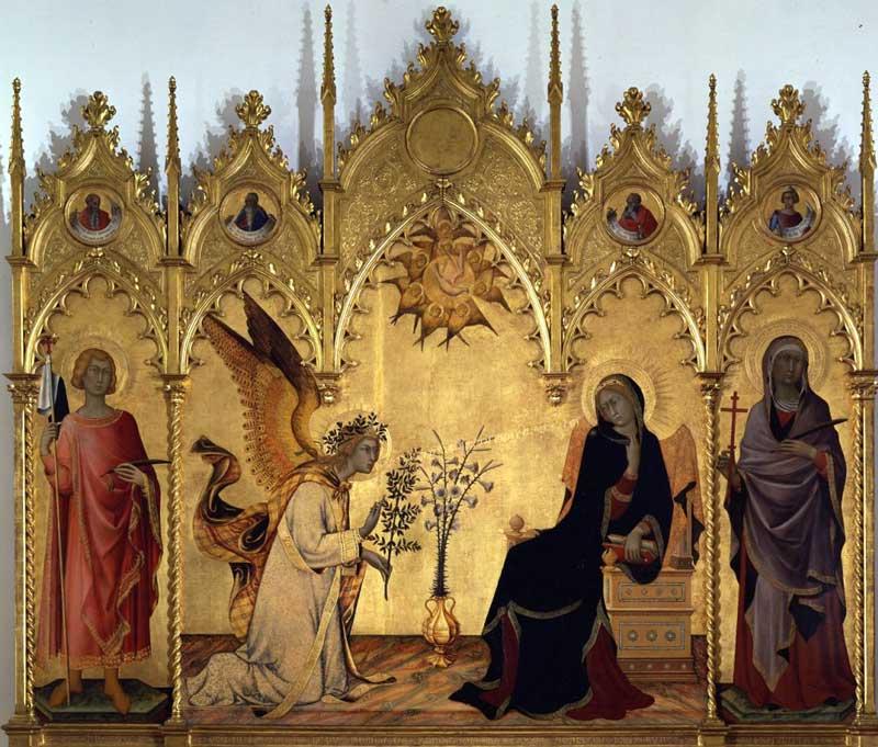 Simone Martini e Lemmi - Annunciazione