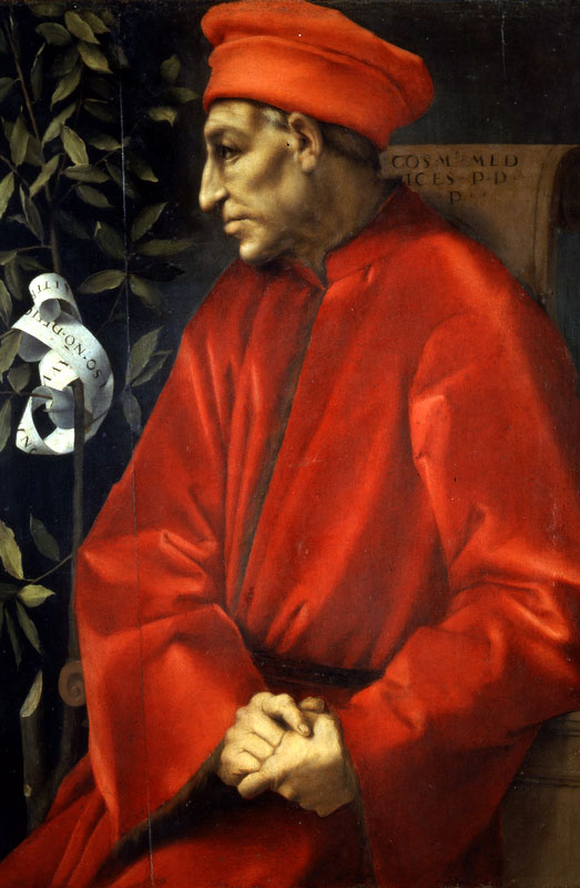 Cosimo il Vecchio di Pontormo