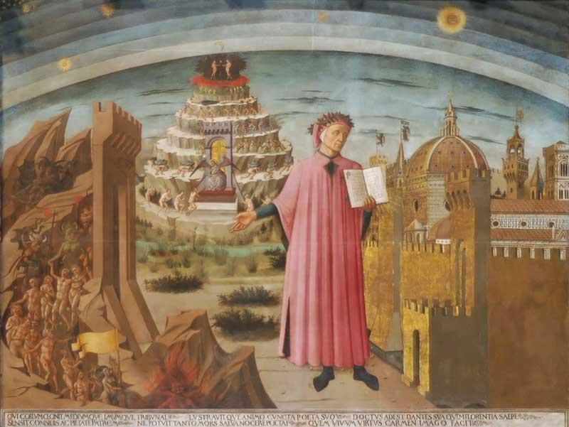 Dante Domenico di Michelino Duomo di Firenze