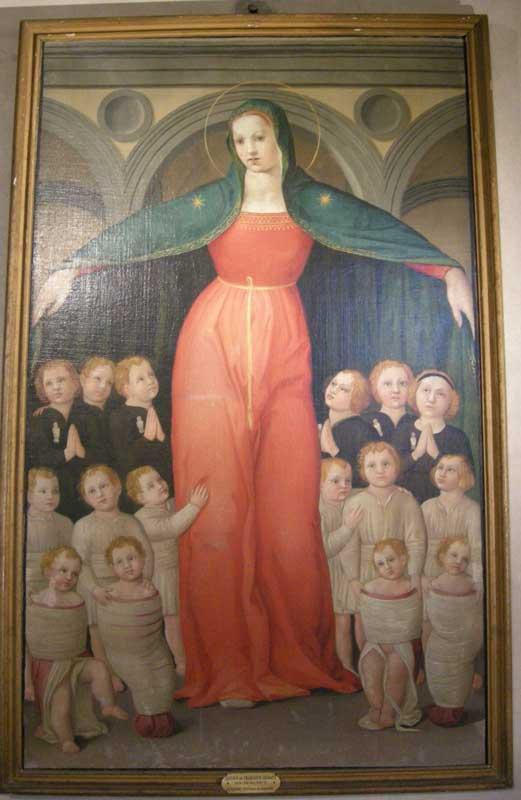 Domenico di Michelino Madonna degli Innocenti 1440
