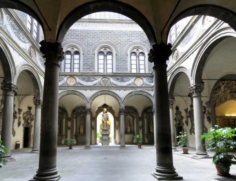 Palazzo Medici Riccardi cortile
