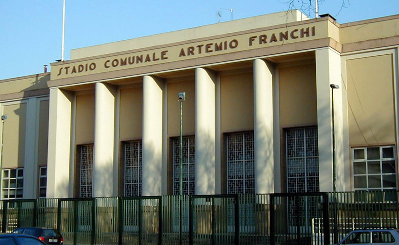 Stadio Franchi - entrata Tribuna